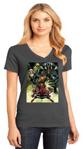 Amazing Spider-Man District Made Ladies Perfect Weight V-Neck Tshirt Size XS-4XL - $19.99+
