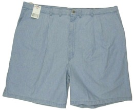 """Wrangler Rugged Wear Relaxed Fit Pleated Shorts Men's W48 Inseam 9"""" 100% Cotton  - $26.23"""
