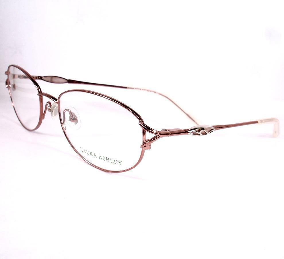 Laura Ashley Cora Peony Pink Women Eyeglasses Frames 53-17-130 - $79.19
