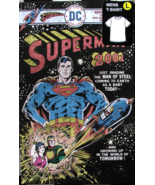 SUPERMAN 2001 DC Comics Lg T-Shirt In Collectible Metal Box New Unopened  - €38,81 EUR