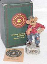 Boyd Bearstone Resin Bears Coach Grizberg Leading The Way Figurine 1E #227757 image 3