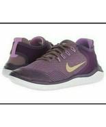 Nike Free RN 2018 Persian violet AH3457-500 Purple Gold women's size - $29.99