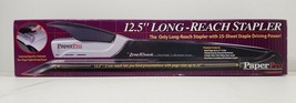 """Paper Pro Long Reach Stapler 12.5"""" With Staples image 1"""