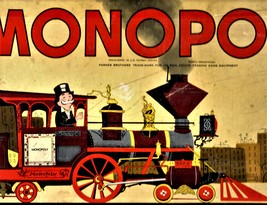 MONOPOLY GAME: Original Box, Game Board, Cards, Money VINTAGE 1957 image 9