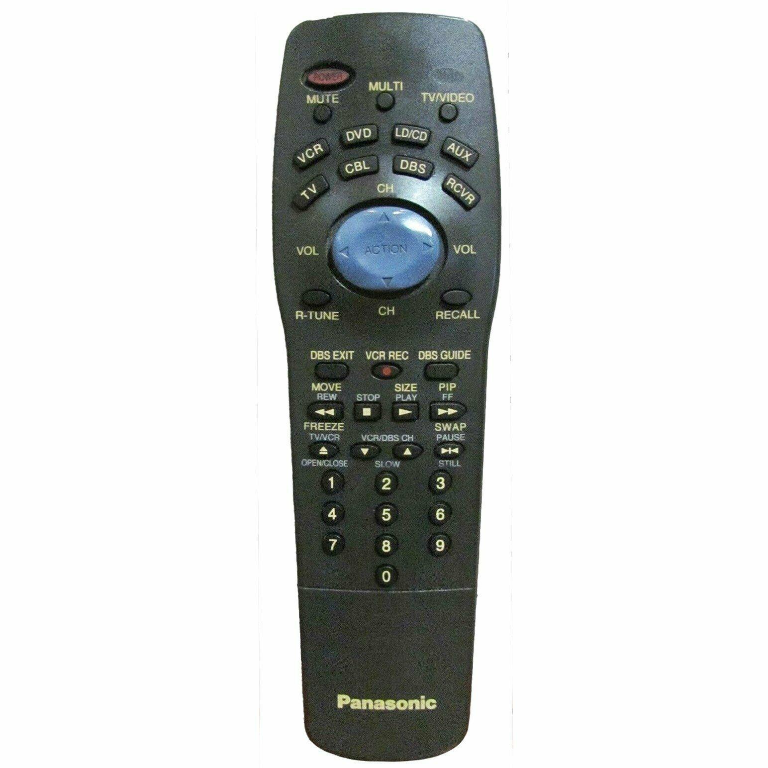 Panasonic EUR511170B Factory Original TV Remote CT27623, CT36923, CT2AG23 - $10.59