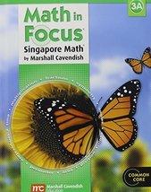 Math in Focus: Singapore Math: Student Edition, Book A Grade 3 2013 [Har... - $12.47