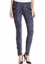 Joe's Jeans Thriller Extreme Zip Skinny Jean Cobalt Leopard Print 31 - $69.29
