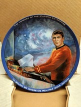 Scotty 1983 Star Trek Hamilton Plate ORIGINAL BOX & COA - NEW OLD STOCK ... - $12.19