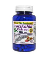 Forskolin - (Forskohlii) 100% Pure, Maximum Strength 2000 mg, 180 Capsul... - $22.95