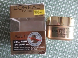 """L""""Oreal Cell Renewal Day Cream Moisturizer - 1.7 Oz. - Sealed - Exp. 6/18 - $5.94"""