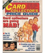 Card Collector's Price Guide Magazine Vol 2 #1 Star Trek Mad Magazine 19... - $2.50