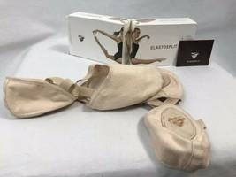 Bloch Elastosplit X Leinen ES0251L Pink Ballett Hausschuhe, Damen Size 8.5D, Neu - $17.96