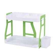 HornTide Creative 2-Tier Storage Rack ABS Plastic Counter-Top Organizer ... - $19.22