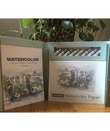 Spicebox Watercolor The Easy Way Painting Kit Instruction Book Paint Exc... - $14.85