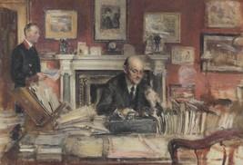 Walter Westley Russell Sir Walter Lamb John Coy Painting Postcard - $6.99