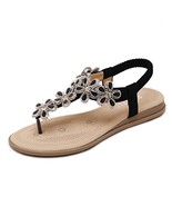 Skywoo Flat Sandals Shoes for Women ans Girls Summer Casual 2019 Bohemia... - $25.71
