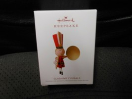 "Hallmark Keepsake ""Clashing Cymbals"" 2018 Limited Edition Ornament NEW - $5.20"