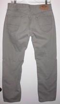 LEVI Signature Jeans Sz 29 Men Gray Grey Straight Leg Low Rise Denim - $20.78