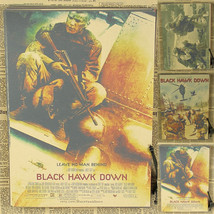Abooly Vintage Poster Black Hawk Down Somalia military war - $11.95