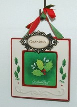 Grasslands Road 455179 Grandma Christmas Picture Frame Colors Red and White image 1