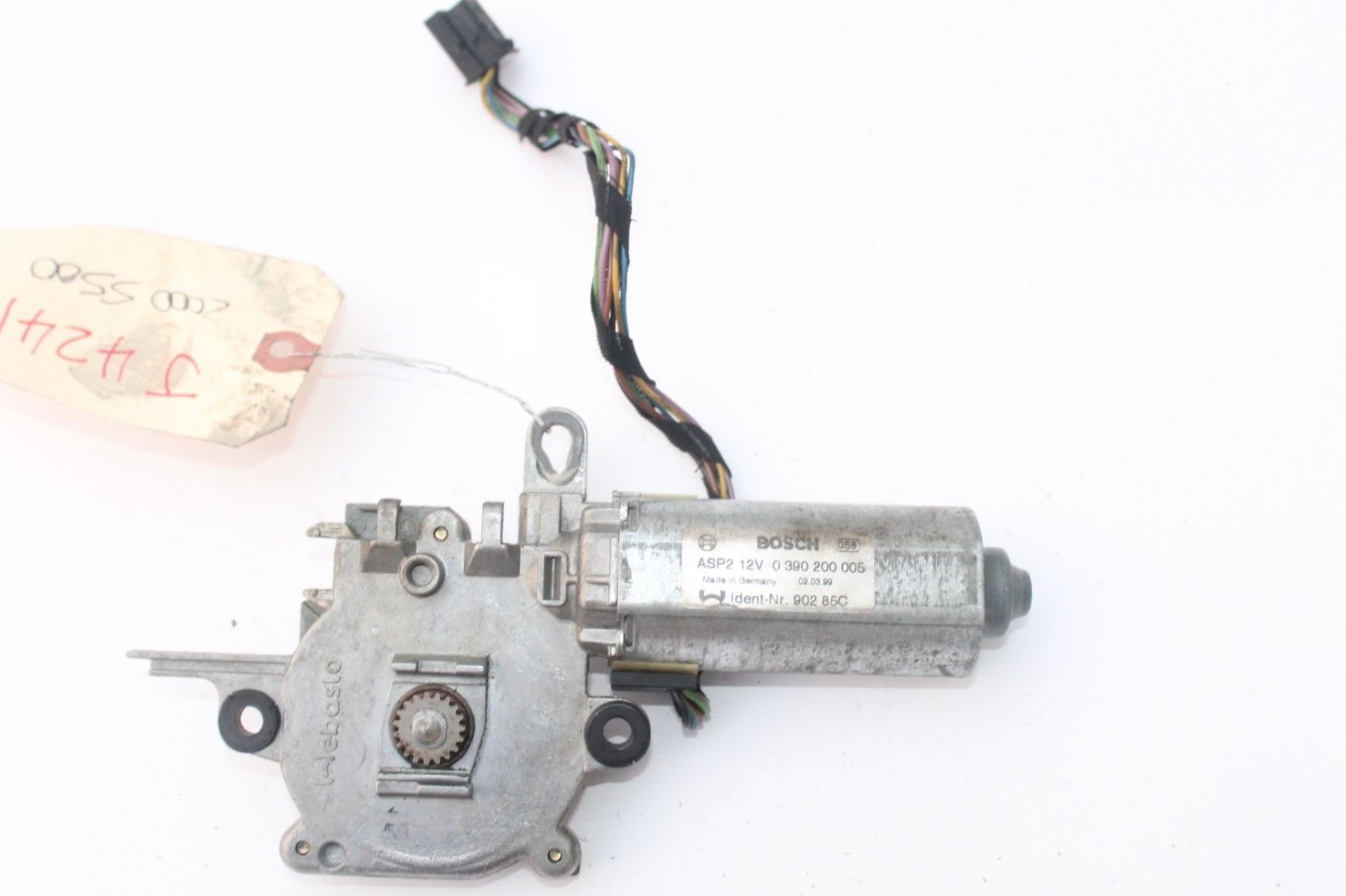 Primary image for 2000-2006 MERCEDES W220 S430 S500 SUN ROOF MOON ROOF MOTOR J4241