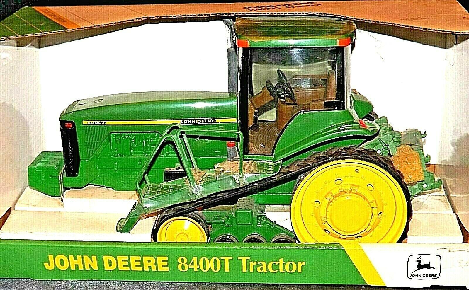 John Deere 8400T Tractor MFWD Replica w/ Box 1/16 Scale Collectors Edition AA20-