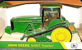 John Deere 8400T Tractor MFWD Replica w/ Box 1/16 Scale Collectors Edition AA20- image 1