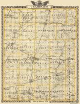Champaign Illinois Landowner - Warner 1876 - 23 x 29.94 - $36.95+