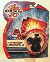 Bakugan MEGA BRONTES Battle Brawlers Black Darkus Booster Pack New Sealed - $23.66