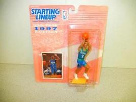 STARTING LINEUP -NBA - 1997-- MINNESOTA TIMBERWOLVES STEPHON MARBURY-- N... - £4.65 GBP