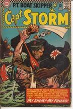 DC Capt. Storm #15 My Friend My Enemy Naval War Shocker  - $9.95