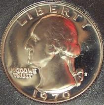 1970-S GEM Proof Washington Quarter PF65 #0412 - $3.99