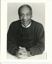 BILL COSBY AUTOGRAPHED 8 X 10 BLACK & WHITE PHOTOGRAPH - $33.64