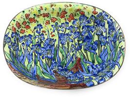 Kelvin Chen Van Gogh Es Catchall Caddy Vanity Tray, Enameled Soap Dish 5... - $55.70