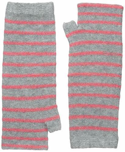 Pistil Women's Preppy Wristlet Striped Hand & Arm Warmer Sleeves Hibiscus