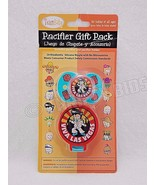 Team Baby Pacifier Gift Pack Viva Las Vegas Pacifier & Holder Silicone 7... - $10.88