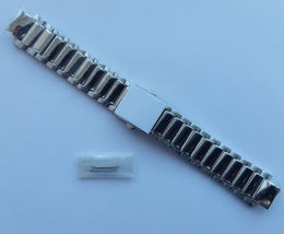 Genuine Replacement Watch Band 15mm Stainless Steel Bracelet Casio EF-50... - $75.60