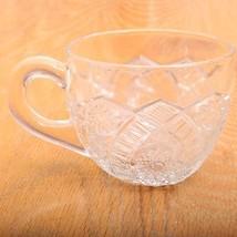 Vintage Glass Punch Cup Hobstar Pattern - $15.88
