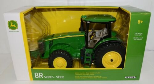 John Deere LP66141 8R Series Die Cast Metal Replica Decal Sheet