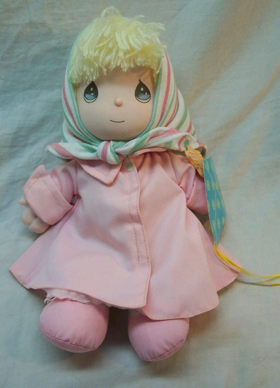 "APPLAUSE Precious Moments MARGIE GIRL W/ KITE 10"" Plush DOLL Toy 1990"