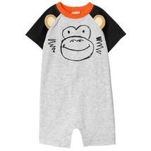 53705b78d73 NWT Gymboree Jungle Jam Monkey Baby Boys Romper Sunsuit 6-12 12-18 18
