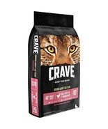 Crave Grain Free With Protein From Chicken & Salmon Dry Indoor Adult Cat... - $35.66