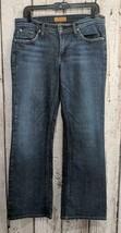 CSW Women's Size 32 James Jean Dry Aged Denim Boot Cut Distress Blue Jea... - $12.64