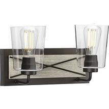 Progress Lighting P300230-143 Briarwood Two-Light Bath & Vanity with Cle... - ₹9,353.80 INR