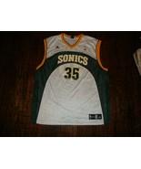 Vintage Seattle Supersonics Kevin Durant NBA Adidas Jersey 2XL  - $84.14