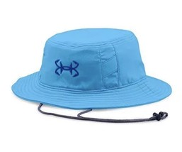 Under Armour Men's Fish Hook Bucket Hat, Carolina Blue/DK. Blue, One Size - $30.46