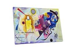 "Pingo World 0617QU59834 ""Kandinsky June Rouge"" Gallery Wrapped Canvas Art, 30"" x - $54.40"