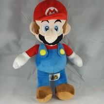 VERY GENTLY USED Super Mario Bros. Plush Doll Figure MARIO 15 Inches Nin... - $18.95