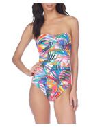 Lauren by Ralph Lauren Women's Tropic Palm Twist Bandeau Underwire Mio O... - $119.90