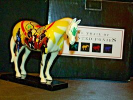 Ceramic Trail Of Painted Ponies #1468 Unity Westland Giftware AA-191996Collec image 6